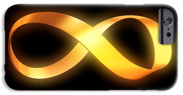 Mobius Strip iPhone Cases - Infinity iPhone Case by Pasieka