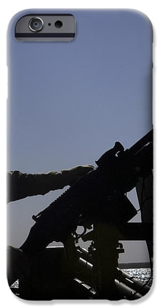 Information Systems Technician Manning iPhone Case by Stocktrek Images