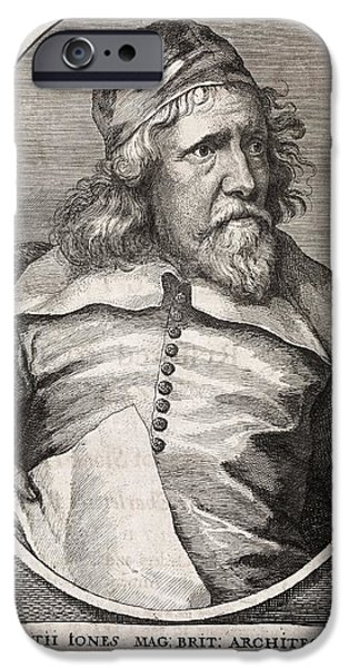 Inigo Jones, British Architect iPhone Case by Middle Temple Library