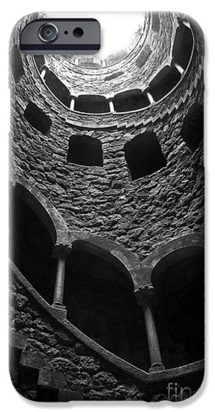 Stairs iPhone Cases - Initiation Well iPhone Case by Carlos Caetano