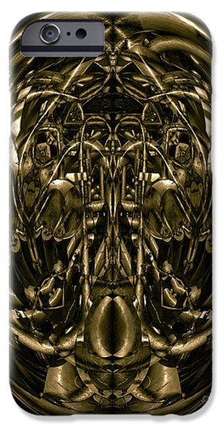 Inner World iPhone Cases - Inner World No. 2 iPhone Case by David Gordon