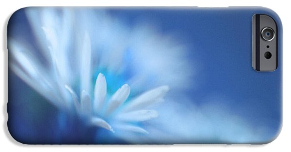 Floral iPhone Cases - Innocence 11b iPhone Case by Variance Collections
