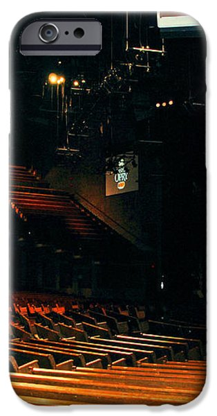 Inside Grand Ole Opry Nashville iPhone Case by Susanne Van Hulst