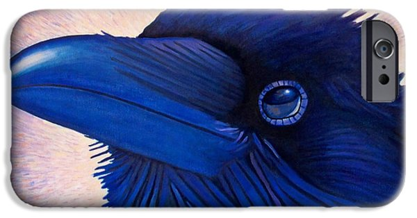 Corvid iPhone Cases - Inspiration iPhone Case by Brian  Commerford