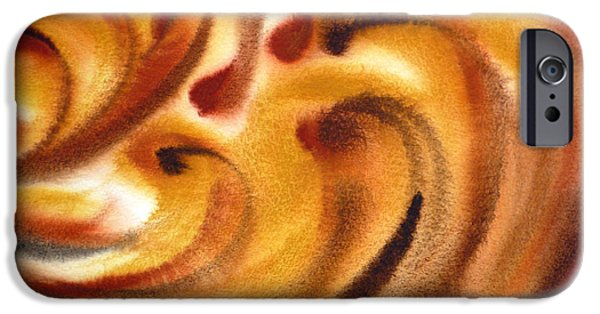 Abstract Movement iPhone Cases - Inspiration One   iPhone Case by Irina Sztukowski