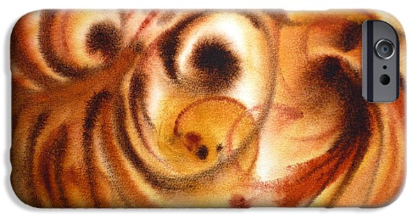 Abstract Movement iPhone Cases - Inspiration Two  iPhone Case by Irina Sztukowski