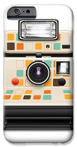 instant camera iPhone Case by Setsiri Silapasuwanchai