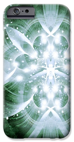 Intelligent Design 5 iPhone Case by Angelina Vick