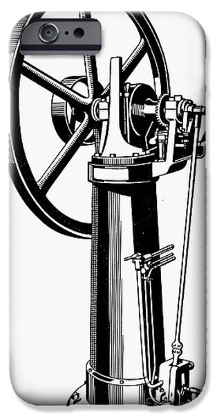 INTERNAL COMBUSTION ENGINE iPhone Case by Granger