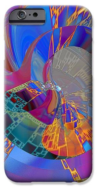 Into The Inner World iPhone Case by Deborah Benoit