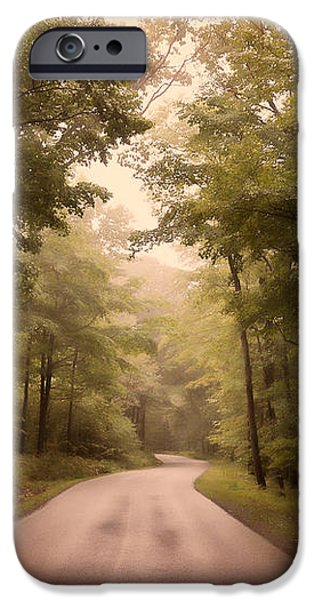 Into The Mists iPhone Case by Lois Bryan