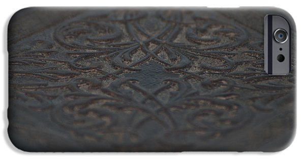 Work Tool Paintings iPhone Cases - Intricacies iPhone Case by Christopher Gaston