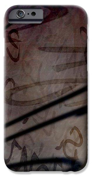 intrusion iPhone Case by Vicki Ferrari