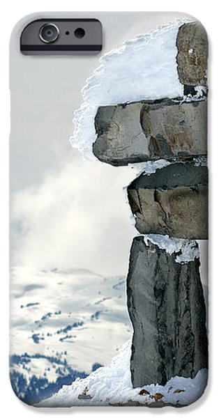 Inukchuk Whistler iPhone Case by Pierre Leclerc Photography