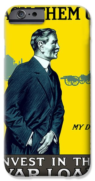 One iPhone Cases - Invest In The War Loan iPhone Case by War Is Hell Store