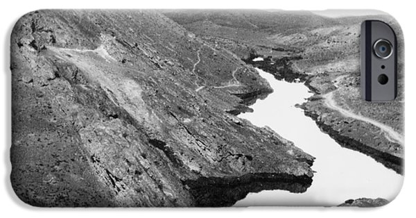 Iraq iPhone Cases - IRAQ: OIL RIVER, c1932 iPhone Case by Granger