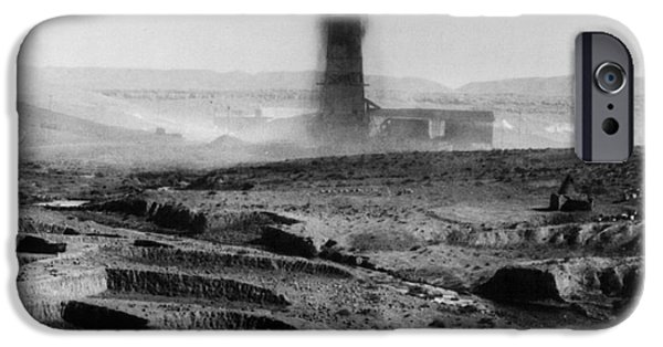 Iraq iPhone Cases - IRAQ: OIL WELL, 1930s iPhone Case by Granger
