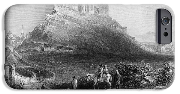 Cathedral Rock iPhone Cases - Ireland: Rock Of Cashel iPhone Case by Granger
