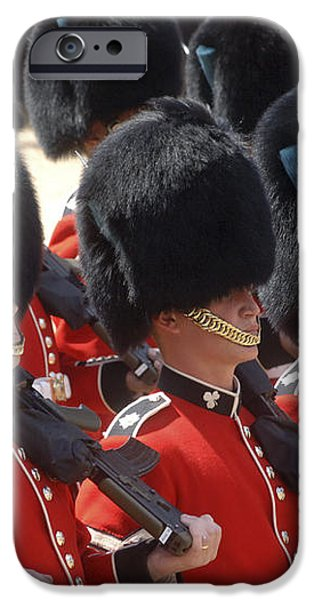 Irish Guards March Pass During The Last iPhone Case by Andrew Chittock