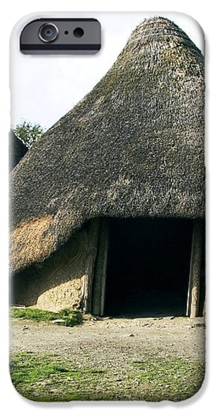 Iron Age Roundhouse iPhone Case by Sheila Terry