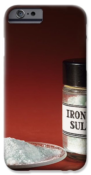 Iron Sulphate iPhone Case by Andrew Lambert Photography