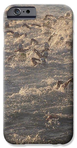 Ironman Triathlon iPhone Case by G. Brad Lewis