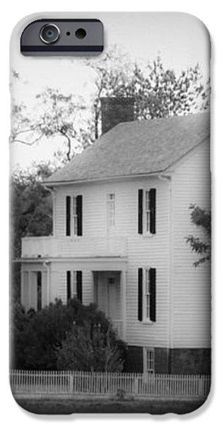Isbell House Appomattox Virginia iPhone Case by Teresa Mucha