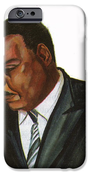 Issa Hayatou iPhone Case by Emmanuel Baliyanga