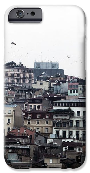 Istanbul Buildings iPhone Case by John Rizzuto