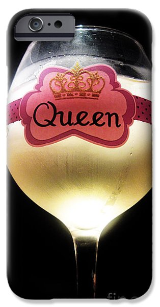 Its Good to be The Queen iPhone Case by Cheryl Young