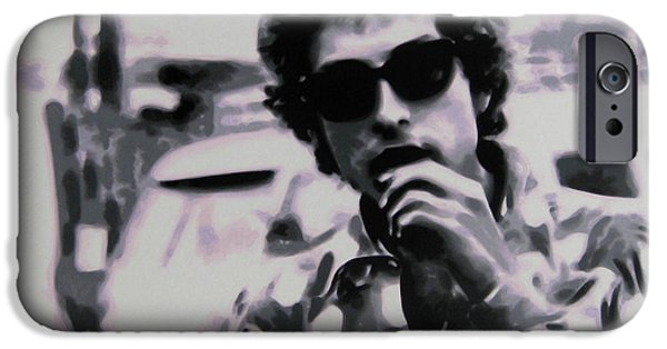Ludzska Paintings iPhone Cases - Its not dark yet buts its getting there iPhone Case by Luis Ludzska