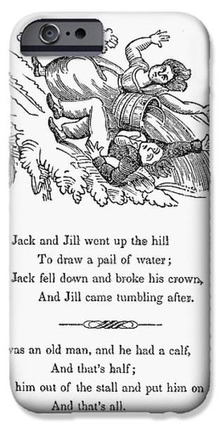 Munroe iPhone Cases - Jack And Jill, 1833 iPhone Case by Granger
