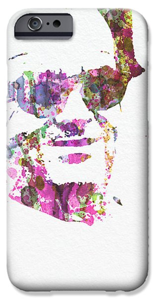 Nest iPhone Cases - Jack Nicolson 2 iPhone Case by Naxart Studio