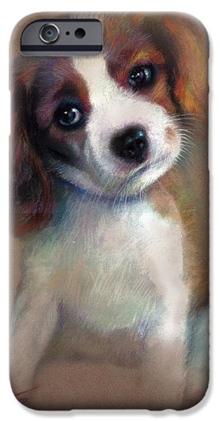 Jack Russell iPhone Cases - Jack Russell Terrier Dog iPhone Case by Ylli Haruni