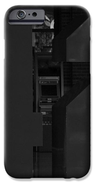 JACKIE ROBINSON in BLACK AND WHITE iPhone Case by ROB HANS