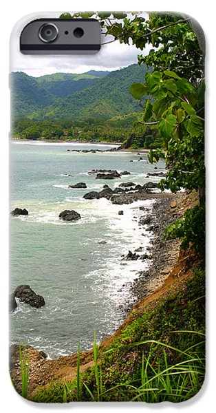 Jaco iPhone Cases - Jaco Pacific Coast Costa Rica iPhone Case by Michelle Wiarda