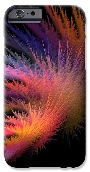 Jagged Edge iPhone Case by Lourry Legarde