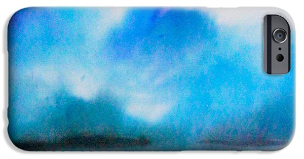 Clouds Tapestries - Textiles iPhone Cases - Jamaica iPhone Case by Daniel Jean-Baptiste