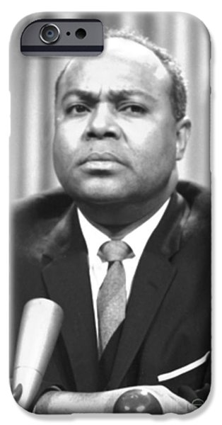 JAMES FARMER (1920-1999) iPhone Case by Granger