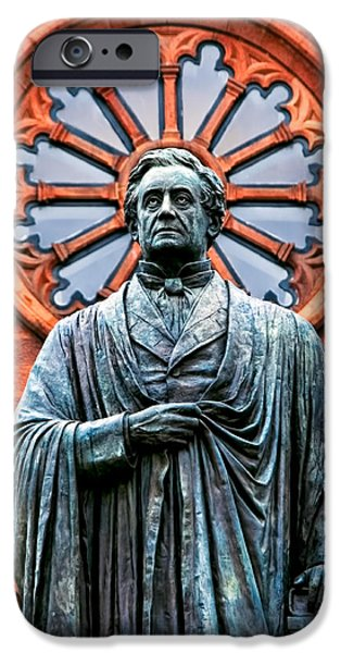 Smithsonian Museum iPhone Cases - James Smithson iPhone Case by Christopher Holmes