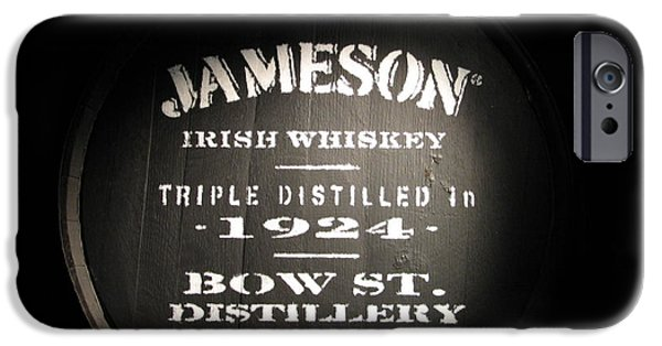 Alcohol iPhone Cases - Jameson iPhone Case by Kelly Mezzapelle