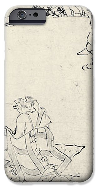 JAPAN: ANIMALS AS HUMANS iPhone Case by Granger