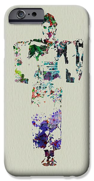 Perform iPhone Cases - Japanese dance iPhone Case by Naxart Studio