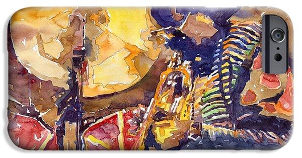 Miles-davis iPhone Cases - Jazz Miles Davis ELECTRIC 2 iPhone Case by Yuriy  Shevchuk