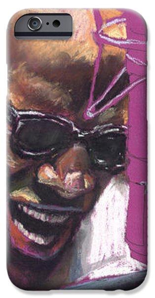 Jazz Ray iPhone Case by Yuriy  Shevchuk