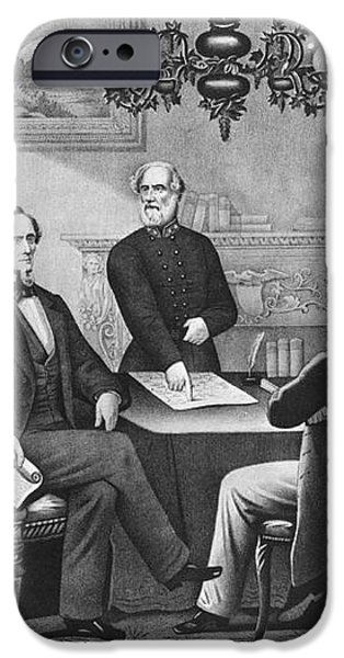 Jefferson Davis, Cabinet iPhone Case by Photo Researchers