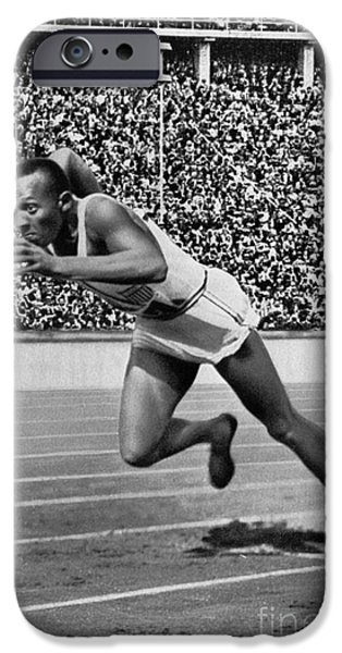 JESSE OWENS (1913-1980) iPhone Case by Granger