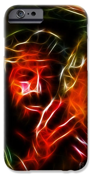 Jesus Crucifiction iPhone Cases - Jesus Carrying The Cross No2 iPhone Case by Pamela Johnson