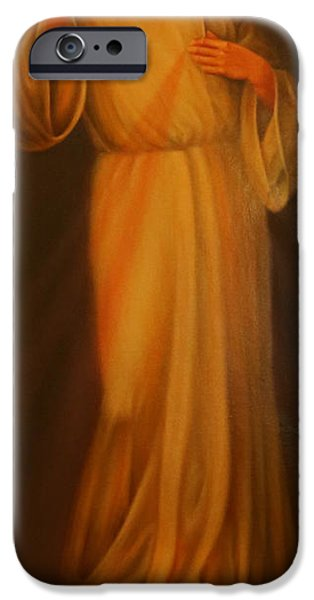 Jesus Crucifiction iPhone Cases - Jesus I Trust in You - Jesus Christ of Nazareth iPhone Case by Lee Dos Santos
