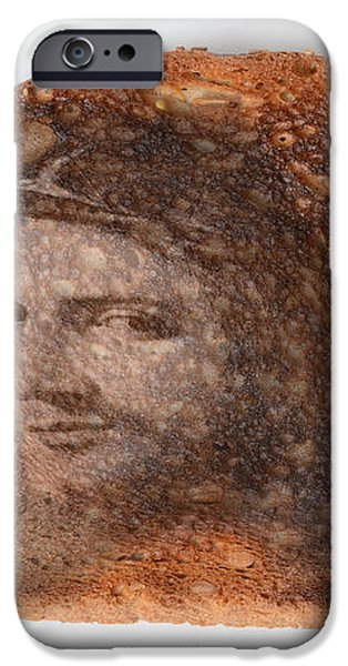 Jesus Toast iPhone Case by Photo Researchers, Inc.